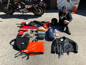 Pack for your next motorcycle trip with some BH&BR Essentials.