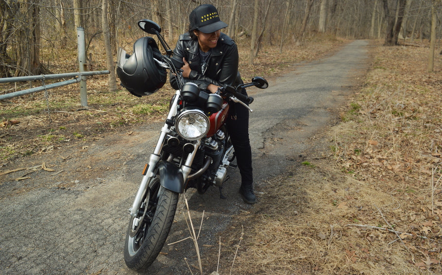 Riding New York City and Other Motorcycle Adventures with Amanda