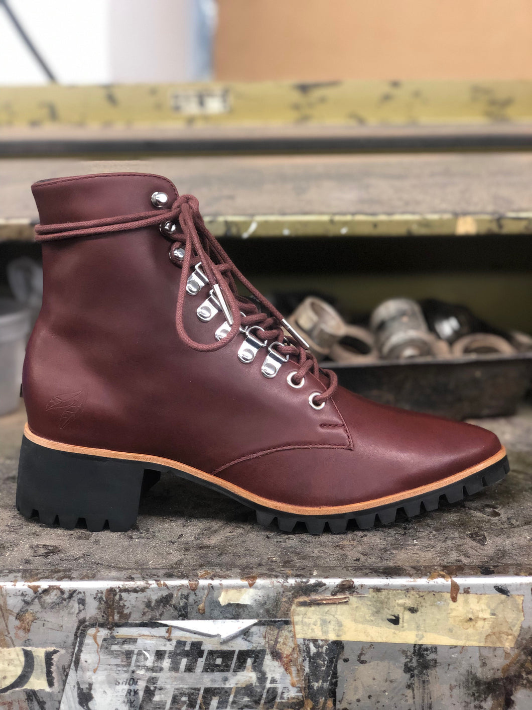 BH&BR Vermonts in OXBLOOD