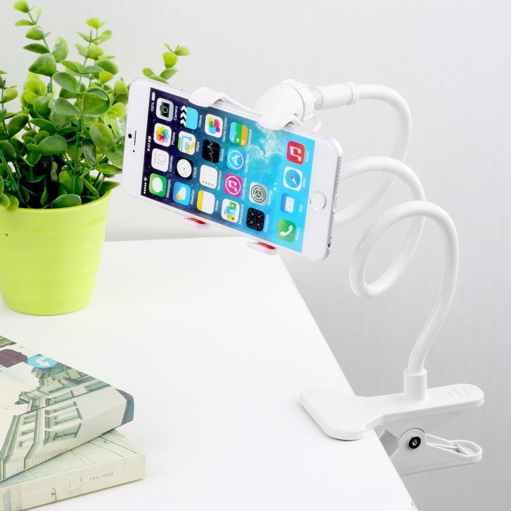 CARPRIE 70cm Universal holder for Mobile Phone 360 Flexible Table Stand Mount Lazy Holder For iPhone 8 Listen music