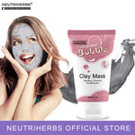 Neutriherbs facial face mask carbonated bubble clay mask for moisturizing facial deep cleansing whole face mask beauty skin care