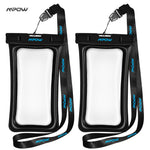 Mpow IPX8 waterproof bag case Universal 6 inch Mobile Phone Bag Swimming Case Take photo under water for iphone sumsung huawei