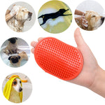 2018 NEW!!!  Chicdog Dog pet bath brush comb rubber gloves bath brush  hair fu Removal