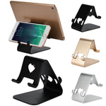 High Recommend Aluminum Alloy Mobile Phone Desk Stand Holder Mount Bracket For iPhone For iPaddrop shopping