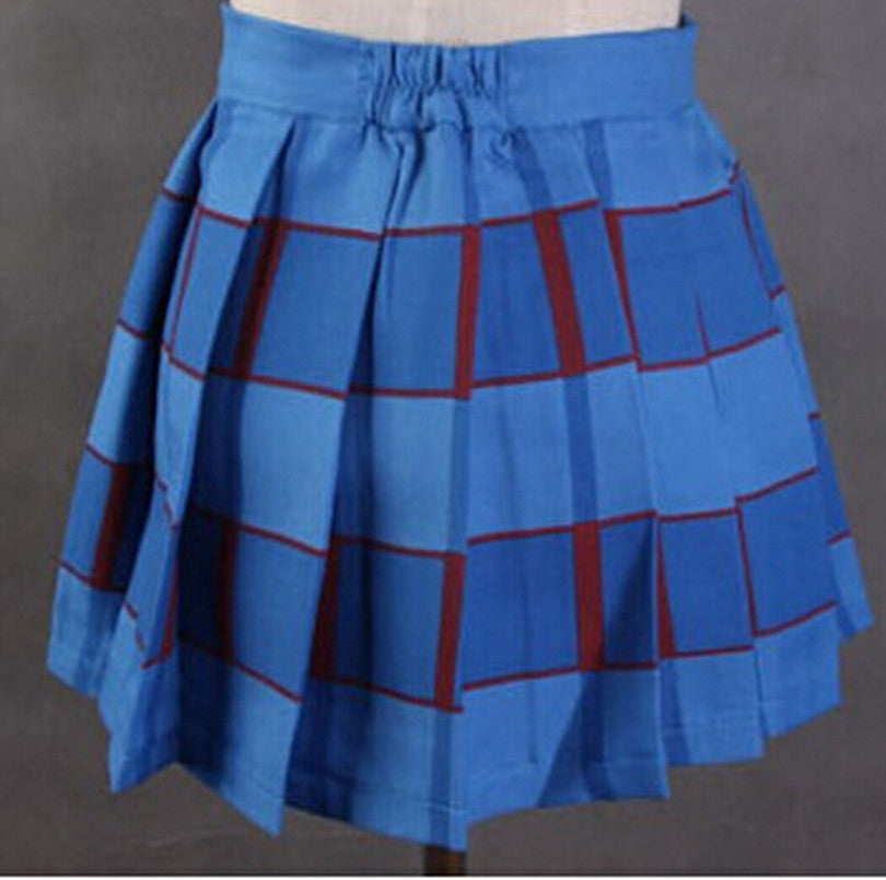 New Cute Style Girls School Uniform Cosplay Skirt's