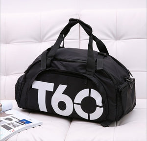 Men Gym Bag Women Fitness Travel Handbag Outdoor Separate Space For Shoes Sac Sports Bag Male Women Bags Sport Backpack