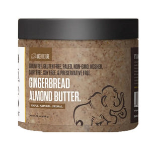 Paleo Gingerbread Almond Butter