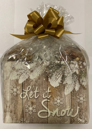 Let it Snow Basket Box