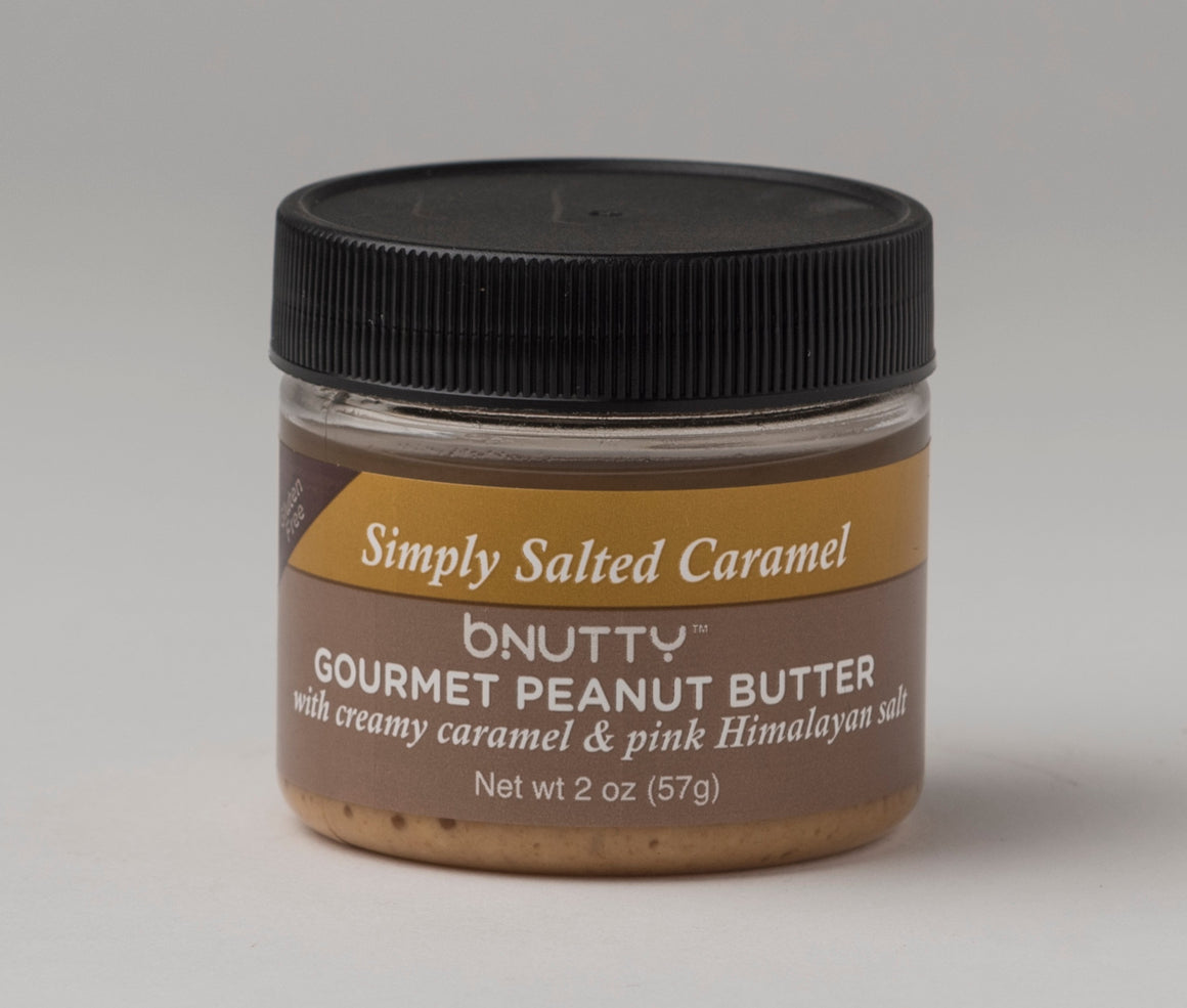 Simple Salted Caramel Peanut Butter