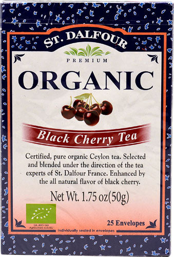 Black Cherry Tea (25 packets) Shopify