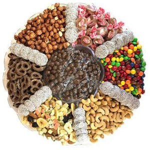 #16 Gourmet Fruit, Nut, and Candy Tray Large