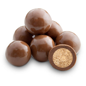 Malt Balls Milk Chocolate No Sugar Added