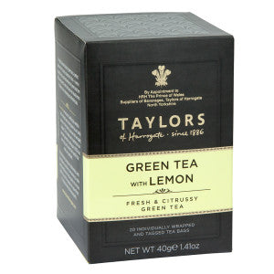 Taylors of Harrogate Green Tea w/ Lemon