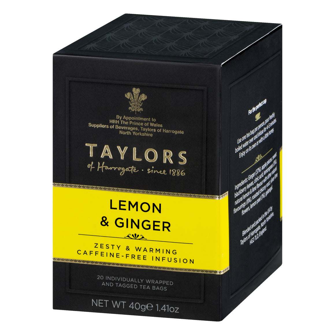 Taylors of Harrogate Lemon & Ginger