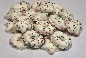 White Fudge Cookies
