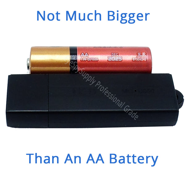 long battery life audio spy recorder