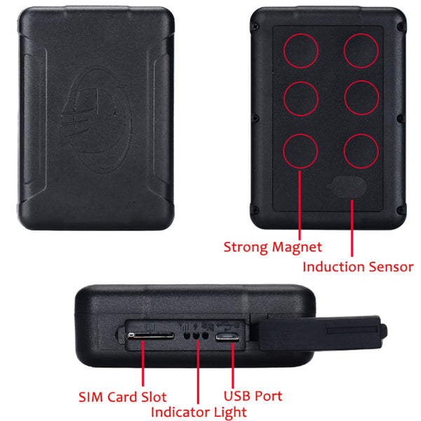 Real Time GPS Tracker, Magnetic, Waterproof, Up To 120 Day Battery Life