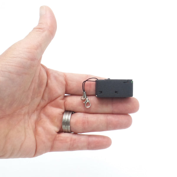 World's Smallest Voice Recorder in its Class With Voice Activation, Scheduled and Continuous Recording, Super Long 10 Day Battery Life