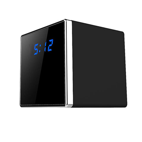 WiFi Cube Clock Surveillance Camera Desk Table Clock Night Vision Motion Activated Security Live View & Audio Infrared