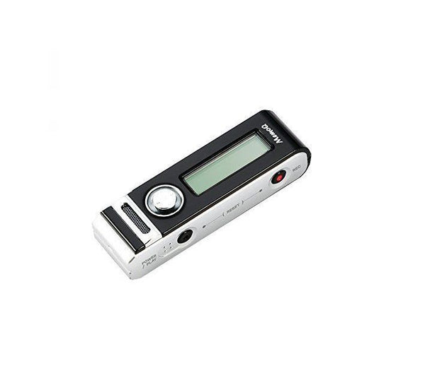 Mini Voice Activated Digital Audio Recorder | Full Featured | Long Battery | 576 hr Storage