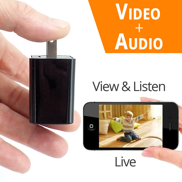 WiFi Surveillance Camera 1080P HD | Motion Activated Camera | Remote Live View W/ Audio