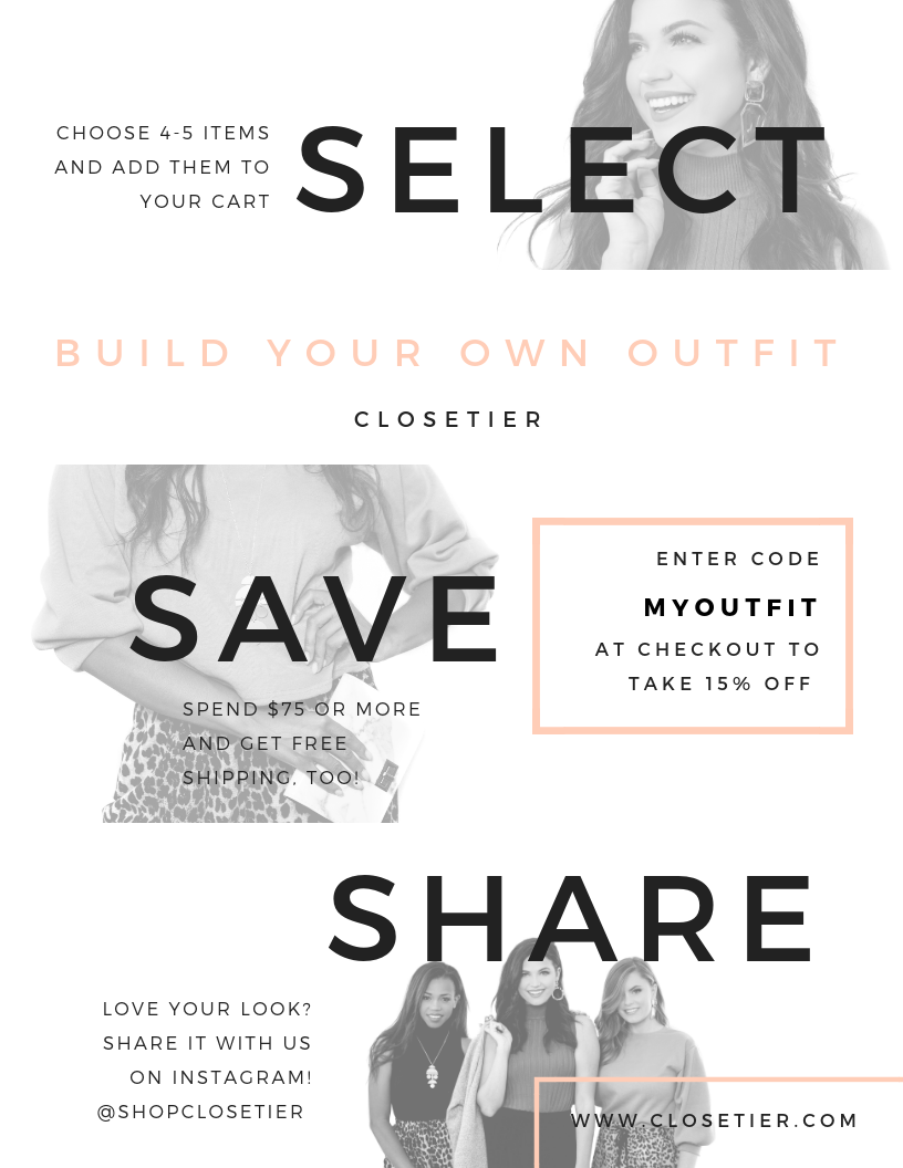 Closetier Build Your Own Outfit