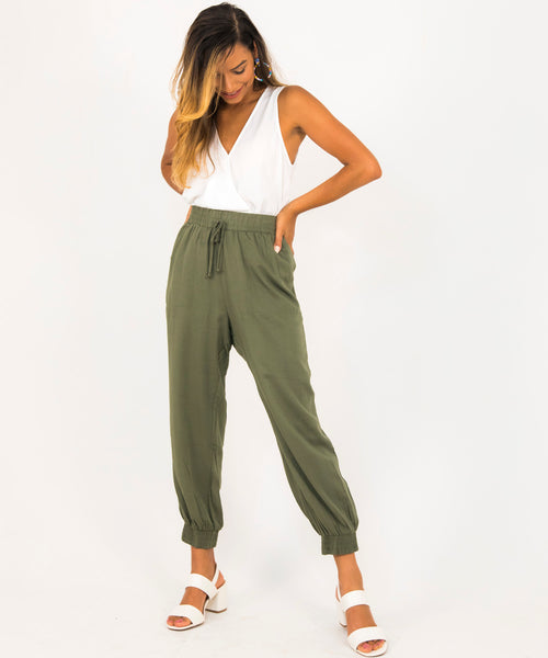 Relaxed Fit Jogger Pants