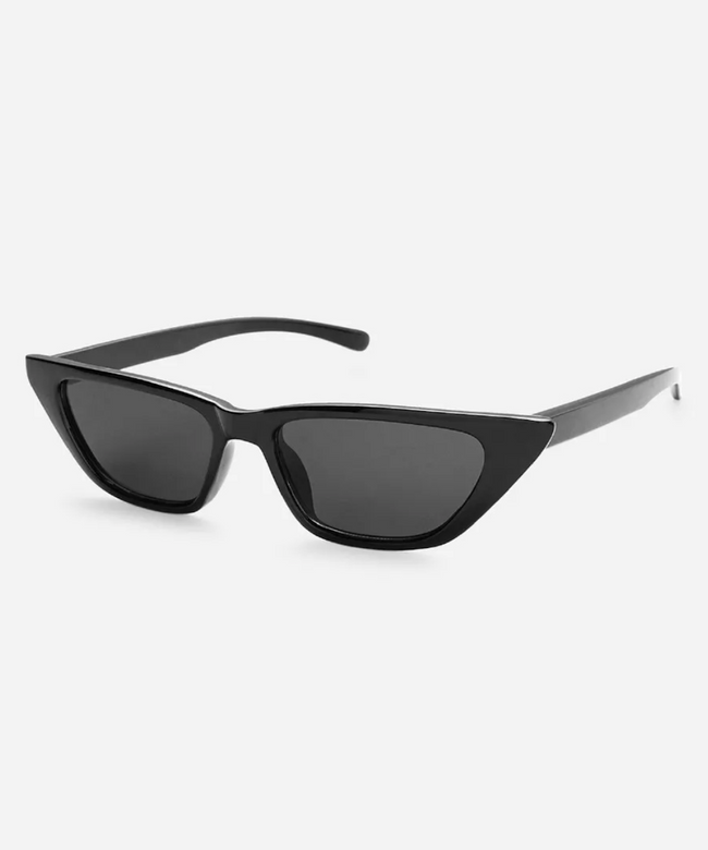 Cat Eye Slim Sunglasses