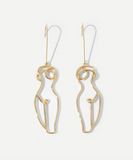 Lady Body Earrings