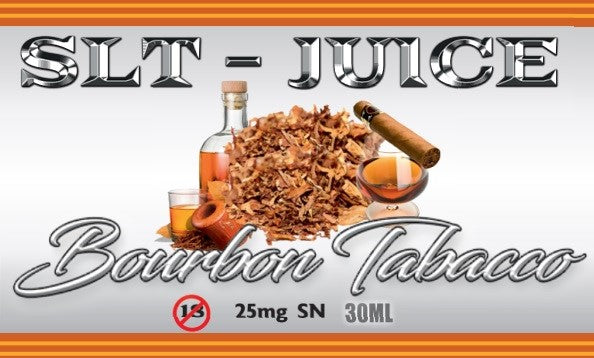 Bourbon Tobacco (Saltnic 25 mg)