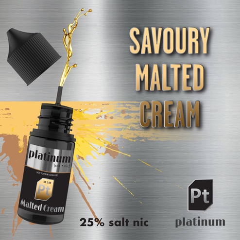 Malted Cream (Salt Nic - 25mg)