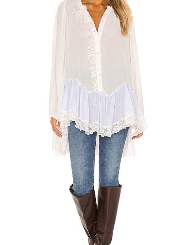 Free People Jeanette Tunic