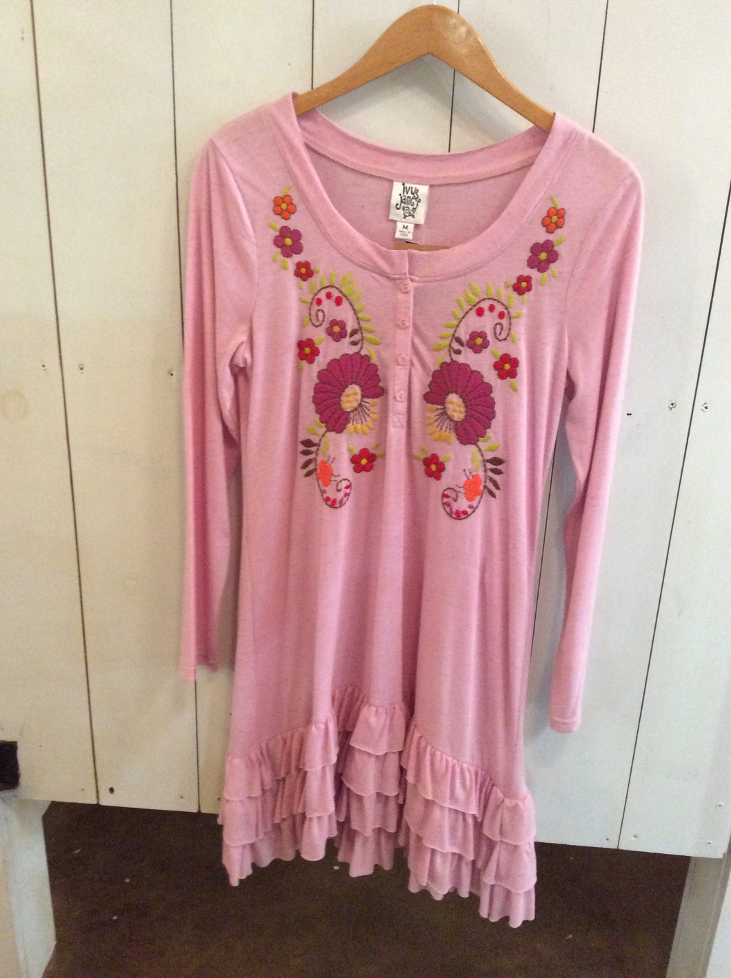 Ivy Jane Pink Flower Top