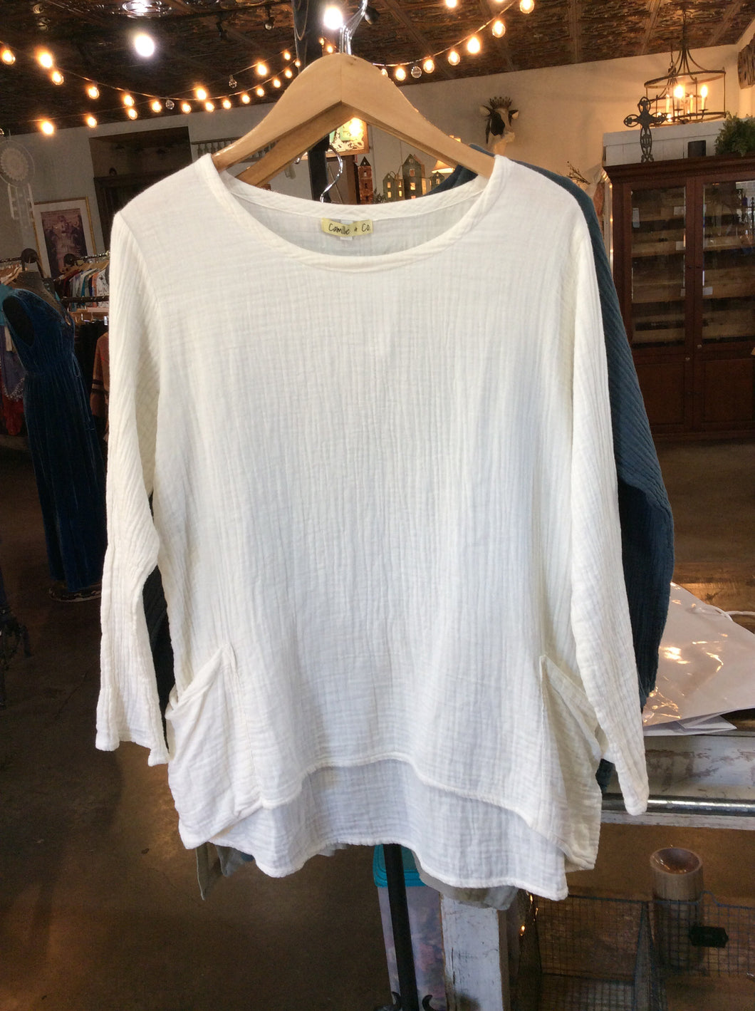 Camille & Co. Cotton Top