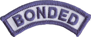 BONDED shoulder patch