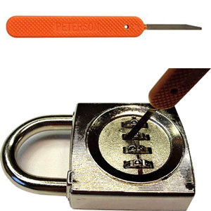 Peterson Mini-Knife Tool for Multi-Wheeled Combination Locks