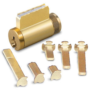 15996GA-26D-KD ILCO Key in Knob Cylinder with Sargent LA Keyway Satin Chrome Finish