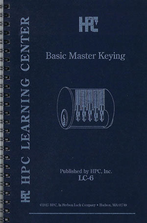 Basic Master Keying Manual LC-6