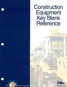 Construction Vehicle Key Blank Reference