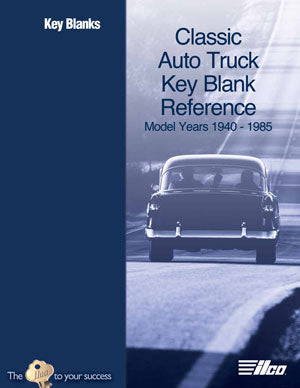 Classic Auto/Truck Key Blank Reference Manual