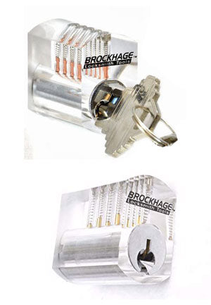 See Through Practice Lock with Spool Pins CPL-5-PLUS