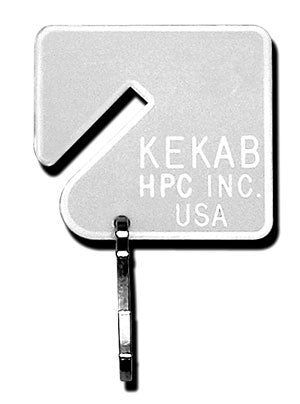 Key Tags for KeKab Plain White PLT-20