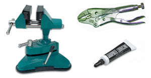 Special Student Offer #1 Starter Package: Vacu-vise, Vise Grips, Powdered Graphite, ILCO Key Blank Catalog