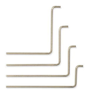 Set of 4 Letter Box Lever Tumbler Lock Pick/Tension Wrenches TW-400