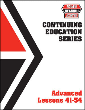 Continuing Education Series Advanced Lesson Book Lessons 41-54