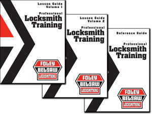 Professional Locksmith Lesson Book and Business and Reference Guides Print Versions