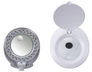 LED Lamp with Magnifier