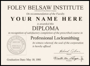 Replacement Diploma