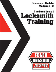 Professional Locksmith Training Course Print Version Volume 2