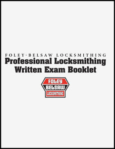 Commercial Locksmithing Correspondence Course